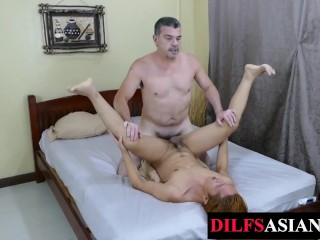 Amateur Asian Toyed Plus Breeded Overwrought Elder Statesman Male