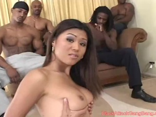 Black Transform Gangbang - Asia Cambodia